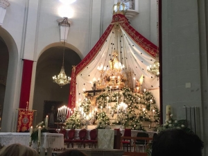 Misa mayor en honor a la Virgen de la Salud