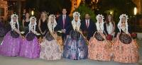 Proclamación Falleras Mayores de Elda 2015 y sus Damas de Honor